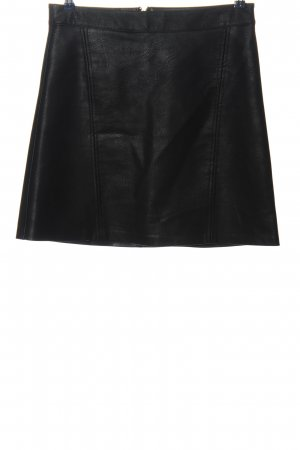 Only Faux Leather Skirt black casual look