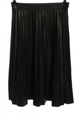 Only Faux Leather Skirt black business style