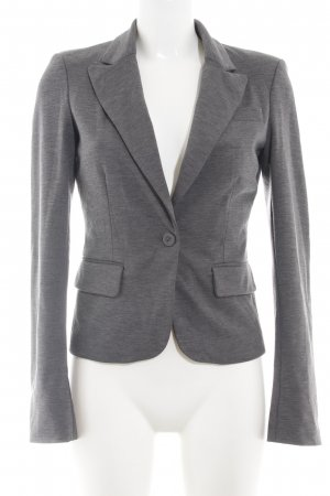 Only Kurz-Blazer hellgrau meliert Business-Look