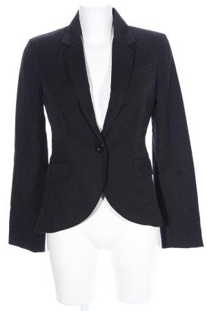 Only Korte blazer zwart zakelijke stijl