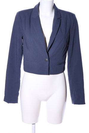 Only Kurz-Blazer blau Casual-Look