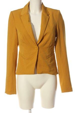 Only Korte blazer licht Oranje zakelijke stijl