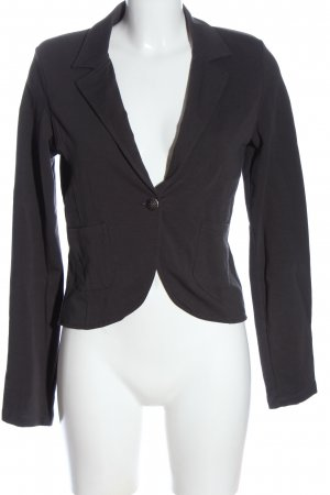 Only Kurz-Blazer hellgrau Casual-Look