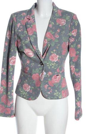 Only Korte blazer bloemenprint casual uitstraling