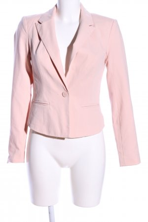 Only Kurz-Blazer pink Business-Look