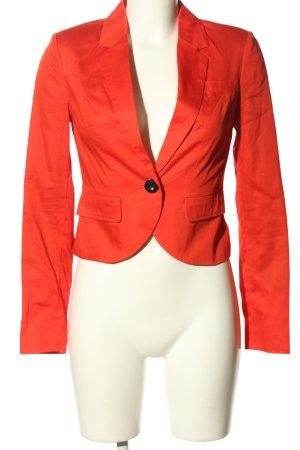 Only Korte blazer rood zakelijke stijl