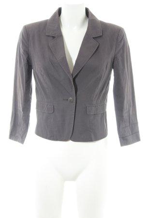 Only Korte blazer grijs zakelijke stijl