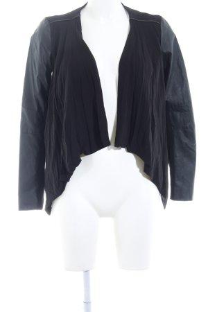 Only Korte blazer zwart casual uitstraling