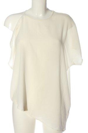 Only Blouse à manches courtes blanc cassé style décontracté