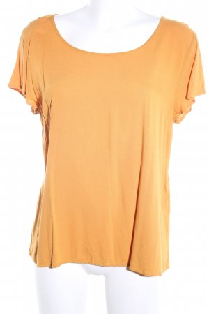 Only Kurzarm-Bluse hellorange Casual-Look