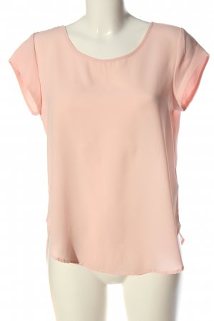 Only Kurzarm-Bluse nude Casual-Look