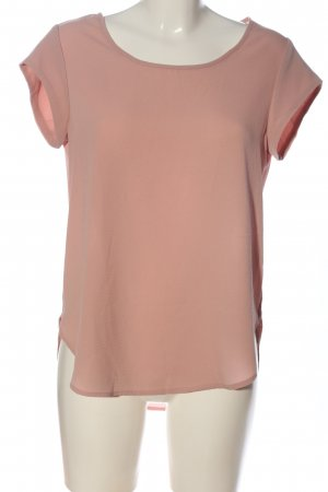 Only Kurzarm-Bluse pink Casual-Look