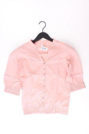Only Kurzarmbluse Größe 34 pink aus Baumwolle