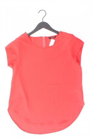 Only Kurzarmbluse Größe 38 rot aus Polyester