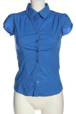 Only Camisa de manga corta azul estilo «business»