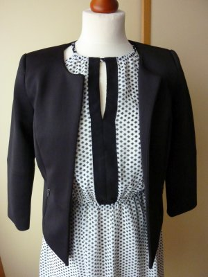 Only Korte blazer zwart Polyester