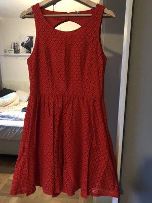 ONLY kurzes Kleid rot