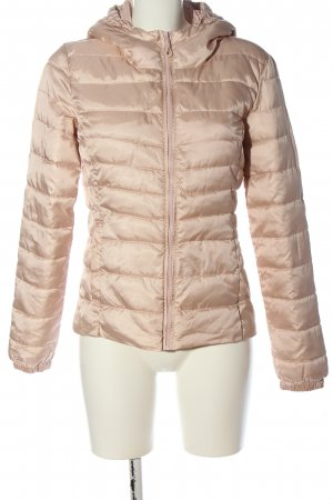 Only Kurzjacke creme Steppmuster Casual-Look
