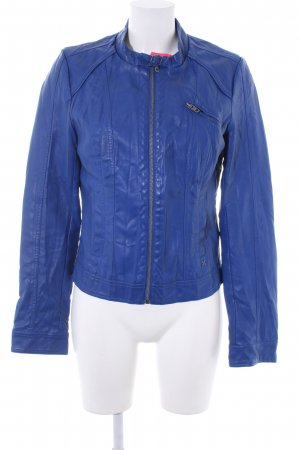 Only Kurzjacke blau Casual-Look
