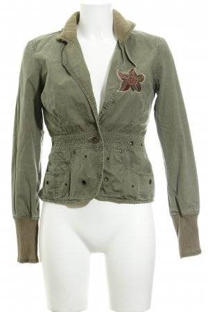 Only Kurzjacke florales Muster Casual-Look