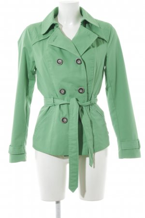 Only Kurzmantel grün schlichter Stil