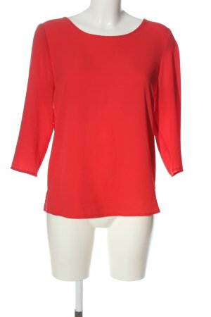 Only Langarm-Bluse rot Casual-Look