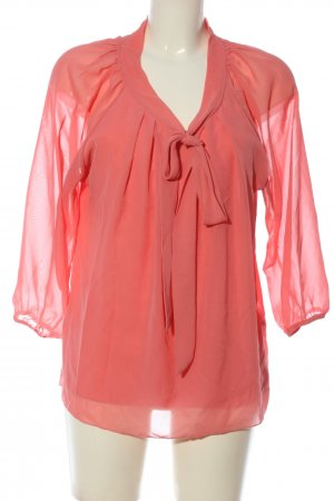 Only Langarm-Bluse pink Casual-Look