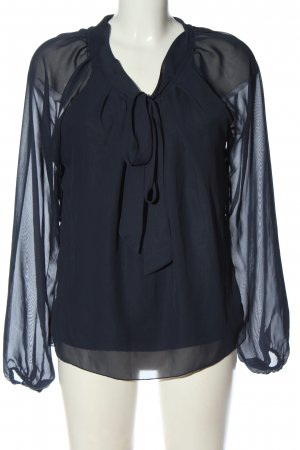 Only Long Sleeve Blouse blue business style