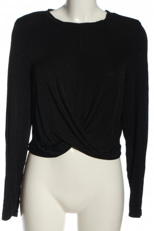 Only Langarm-Bluse schwarz Elegant