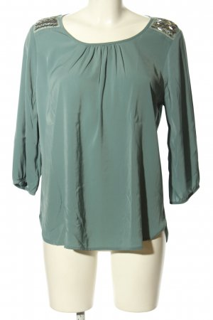 Only Langarm-Bluse blau Casual-Look