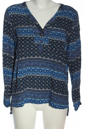 Only Langarm-Bluse Mustermix Casual-Look