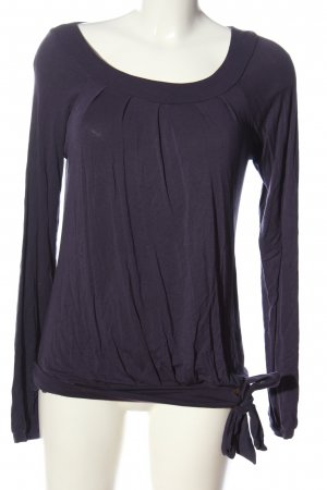 Only Langarm-Bluse lila Casual-Look