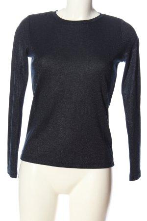 Only Langarm-Bluse blau Casual-Look