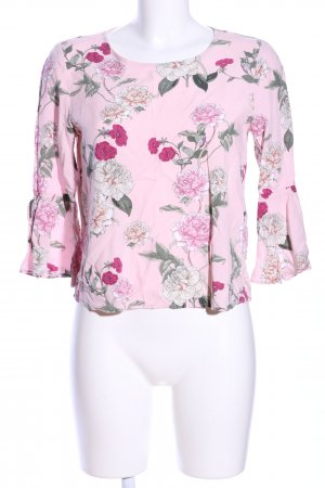 Only Langarm-Bluse Allover-Druck Casual-Look