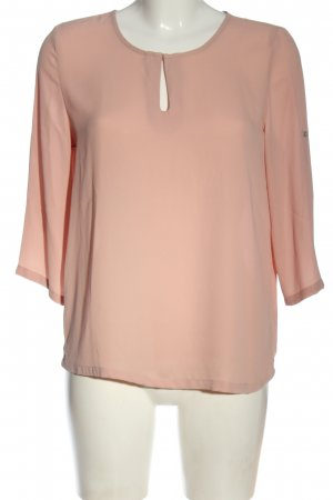 Only Langarm-Bluse nude Business-Look