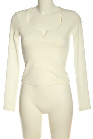 Only Langarm-Bluse creme Casual-Look