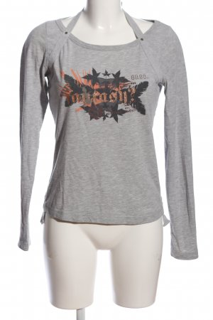 Only Langarm-Bluse meliert Casual-Look