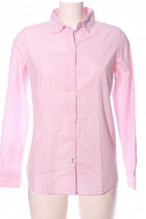 Only Langarmhemd pink Streifenmuster Business-Look