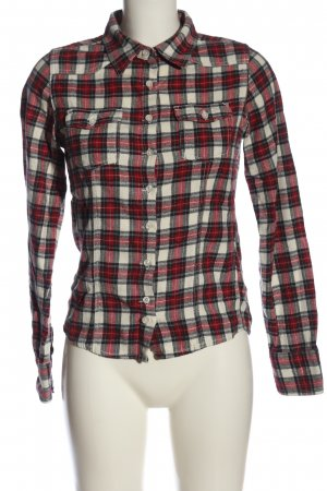 Only Langarmhemd Karomuster Casual-Look