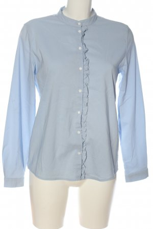 Only Langarmhemd blau Casual-Look