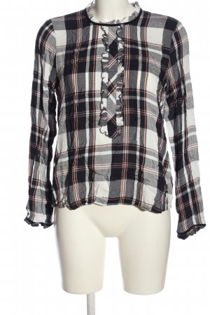 Only Langarmhemd Allover-Druck Casual-Look