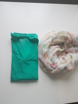 Only Boatneck Shirt turquoise