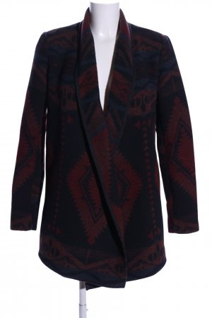 Only Lange Jacke Allover-Druck Casual-Look
