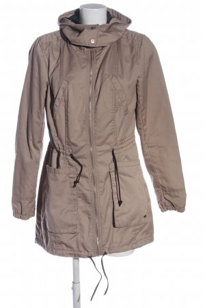 Only Lange Jacke braun Casual-Look