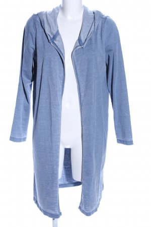 Only Giacca lunga blu puntinato stile casual