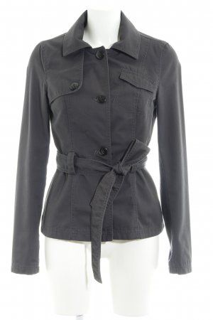 Only Lange Jacke anthrazit Casual-Look