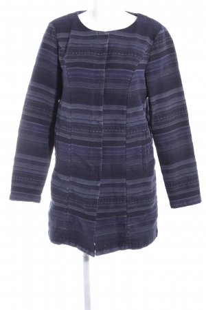 Only Lange Jacke Streifenmuster Casual-Look