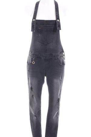 Only Jeans met bovenstuk donkergrijs ontspannen stijl