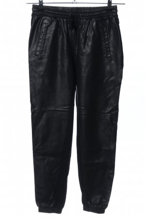 Only Lederhose schwarz Casual-Look