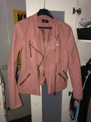 Only Lederjacke/Bikerjacke Rosa Pink